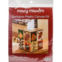 "Mary Maxim Plastic Canvas Tissue Box Kit 5"" NOTM052493"