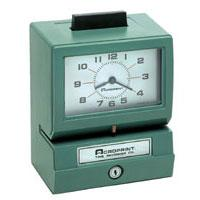 Acroprint 125ER3 Manual Print Time Recorder ACP125ER3