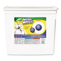 Crayola Model Magic Modeling Compound, 8 oz each packet, White, 2 lbs. CYO574400