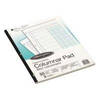 Wilson Jones Accounting Pad, Three Eight-Unit Columns, 8-1/2 x 11, 50-Sheet Pad WLJG7203A