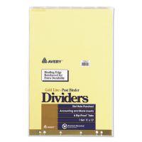 File Backs & Dividers