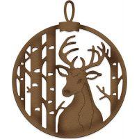 CottageCutz Elites Deer & Birch Ornament Die NOTM085811