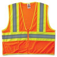 GloWear Class 2 Two-tone Orange Vest EGO21303