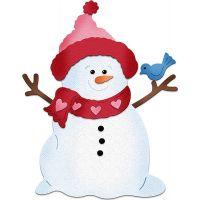 CottageCutz Sweet Snowman Die NOTM204702