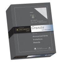 Southworth Granite Specialty Paper, Gray, 24lb, 8 1/2 x 11, 25% Cotton, 500 Sheets SOU914C