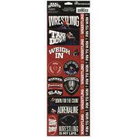 """Real Sport Die-Cut Cardstock Stickers 4.25""""X13"""" NOTM082291"""