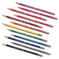 Prismacolor Col-Erase Pencil w/Eraser, 24 Assorted Colors/Set SAN20517