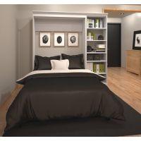 Bestar Versatile by Bestar 84'' Full Wall bed kit in White BESBES4089017