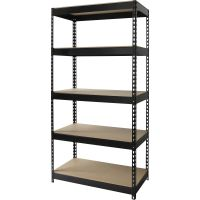 Lorell Riveted Steel Shelving Unit LLR61620
