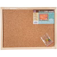 "Framed Cork Memo Board 12""X16"" NOTM448125"