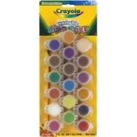 Crayola Washable Kid's Paint Pots NOTM138985