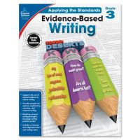 Carson-Dellosa Grade 3 Evidence-Based Writing Workbook Education Printed Book for Art CDP104826