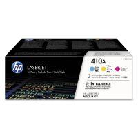 HP 410A (CF251A-M) 3-pack Cyan/Magenta/Yellow Original LaserJet Toner Cartridges HEWCF251AM