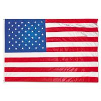 Advantus All-Weather Outdoor U.S. Flag, Heavyweight Nylon, 4 ft x 6 ft AVTMBE002220
