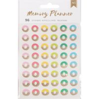 American Crafts Memory Planner Hole Reinforcer Stickers NOTM056516