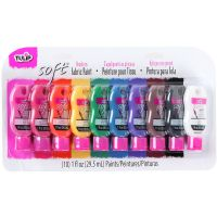 Tulip Soft Fabric Paints 1oz 10/Pkg NOTM053482