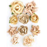 "Paper Blooms 1"" To 1.5"" 10/Pkg NOTM465722"