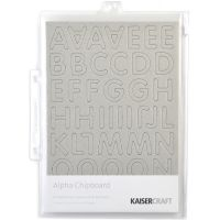 "Chipboard Alphabet #3 8.25""X5.75"" Sheets 3/Pkg NOTM413299"