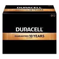 Duracell CopperTop Alkaline Batteries, D, 12/BX DURMN1300
