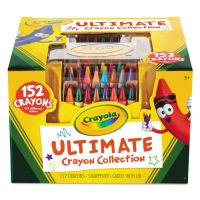 Crayola Ultimate Crayon Case, Sharpener Caddy, 152 Colors CYO520030