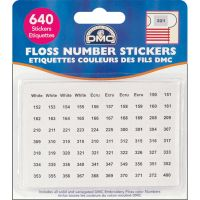 Floss Number Stickers NOTM072401
