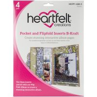 Heartfelft Creations Pocket & Flipfold Inserts NOTM528828