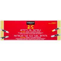 Standard Size Oil Pastels 25/Pkg NOTM340620