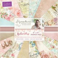 """Crafter's Companion Single-Sided Paper Pad 6""""X6"""" 48/Pkg NOTM400428"""