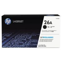 HP 26A, (CF226A) Black Original LaserJet Toner Cartridge HEWCF226A
