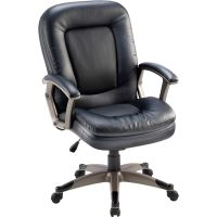 Lorell Mid-Back Management Office Chair LLR69519