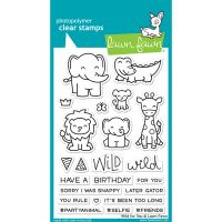 """Lawn Fawn Clear Stamps 4""""X6"""" NOTM439697"""