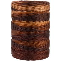 Iris Nylon Crochet Thread - Brown Mix NOTM055082