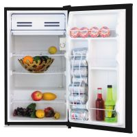 Alera 3.3 Cu. Ft. Refrigerator with Chiller Compartment, Black ALERF333B