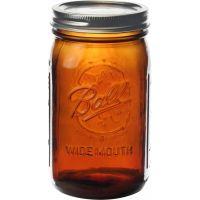 Ball(R) Wide Mouth Canning Jars 4/Pkg NOTM469701
