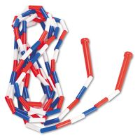 Champion Sports Segmented Plastic Jump Rope, 16ft, Red/Blue/White CSIPR16