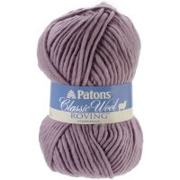 Patons Classic Wool Roving Yarn - Frosted Plum NOTM325271