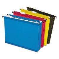 Pendaflex Hanging Pocket Files, 3 1/2 Inch Expansion, Letter, Assorted, 4 per pack PFX09213