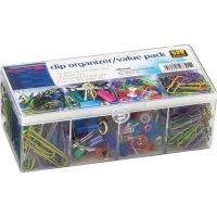OIC Flip Lid Clip Organizer Value Pack OIC97301
