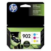 HP 902 (T0A38AN) Cyan, Magenta, Yellow Original Ink Cartridge, 3/Pk HEWT0A38AN