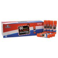 Elmer's Washable All Purpose School Glue Sticks, Clear, 60/Box EPIE501