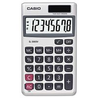 Casio SL-300SV Handheld Calculator, 8-Digit LCD CSOSL300SV