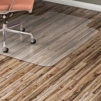 Lorell Nonstudded Design Hard Floor Chair Mat LLR82826