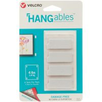 "Velcro(R) Brand HANGables Removable Wall Fasteners 1.75X.75"" NOTM320588"