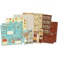 "Karen Foster Scrapbook Page Kit 12""X12"" NOTM397441"