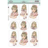 """Sugar Nellie Designs Topper Sheet 8.5""""X12.2"""" NOTM320110"""