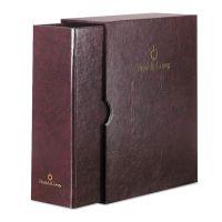 FranklinCovey Personal Organizer Classic Storage Case w/Sleeve, 5-1/2 x 8-1/2, Burgundy FDP19089