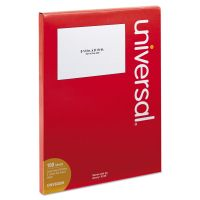 Universal Inkjet/Laser Printer Labels, 5 1/2 x 8 1/2, White, 200/Pack UNV80206