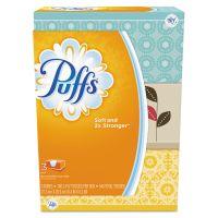 Puffs White Facial Tissue, 2-Ply, 8.2 x 8.4, 180/Box, 3 Box/Pack PGC87615PK