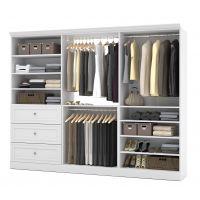 Bestar Versatile by Bestar 108'' Storage kit in White BESBES4085217