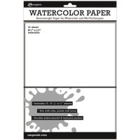 Ranger Surfaces Watercolor Paper 10/Pkg NOTM250187